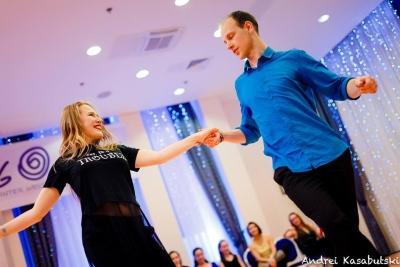 Парные танцы в Беларуси и Америке