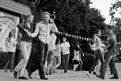 Современные танцы — Хастл. История.